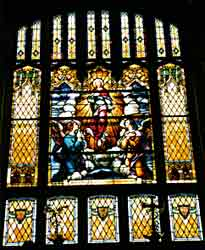 Front Stained Glass Window